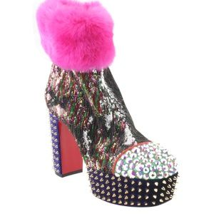 Christian Louboutin110 Ankle Bootsx Size 37 168390